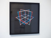 """Spatial Constructions"" Anaglyph carving series 2012"