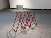 """""""Propagandastand"""" (after Gustav Klucis) 2012"""